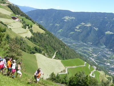 Beautiful hiking tour on Alta Via di Merano