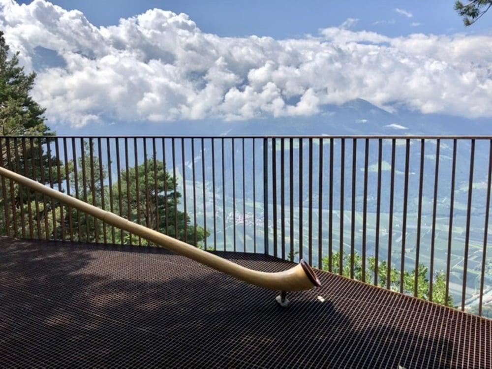 Corno alpino sul Montesole di Naturno