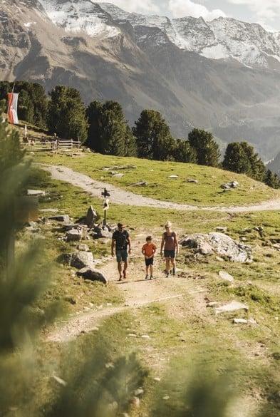 Mindestens einmal wöchentlich begleitet Ihr Gastgeber die Wanderung persönlich.