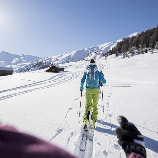 Tour sugli sci