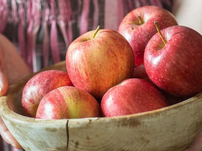 Apfel und Wacholder