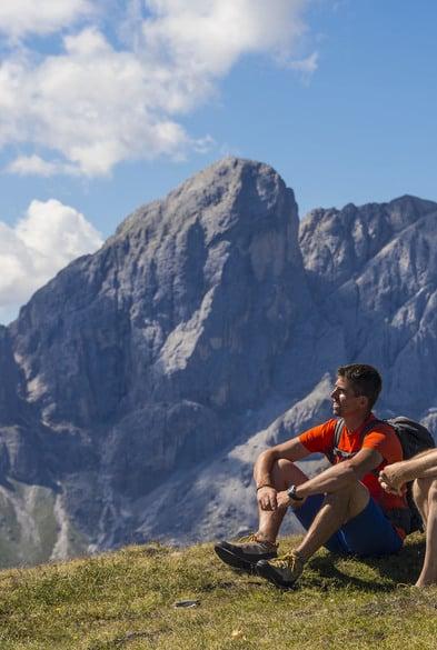 Das Wanderhotel in Südtirol