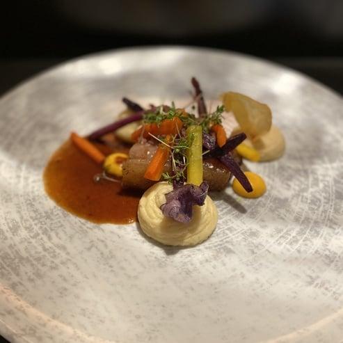 Alpine-Mediterranean gourmet cuisine