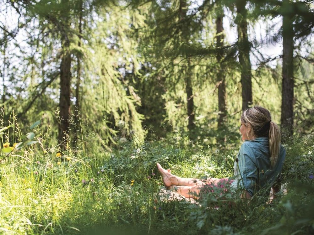 Waldbaden zum Entschleunigen und Entstressen