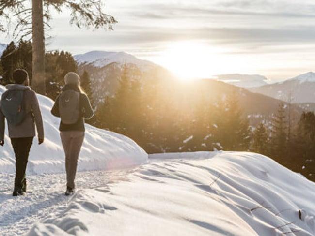 Winter walks in South Tyrol