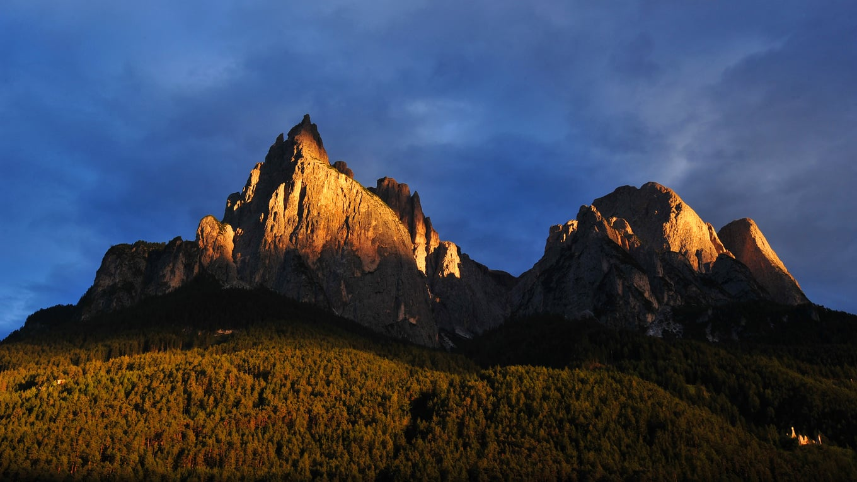 The magic light of the Dolomites