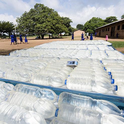 Drinking water treatment with WADI, Uganda