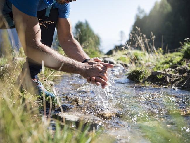 Achtsam im Alltag: Wasser