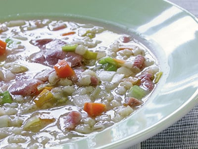 South Tyrolean barley soup