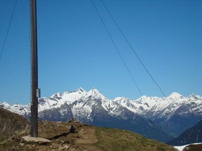 Sambock auf 2369 m eine herrliche Aussicht