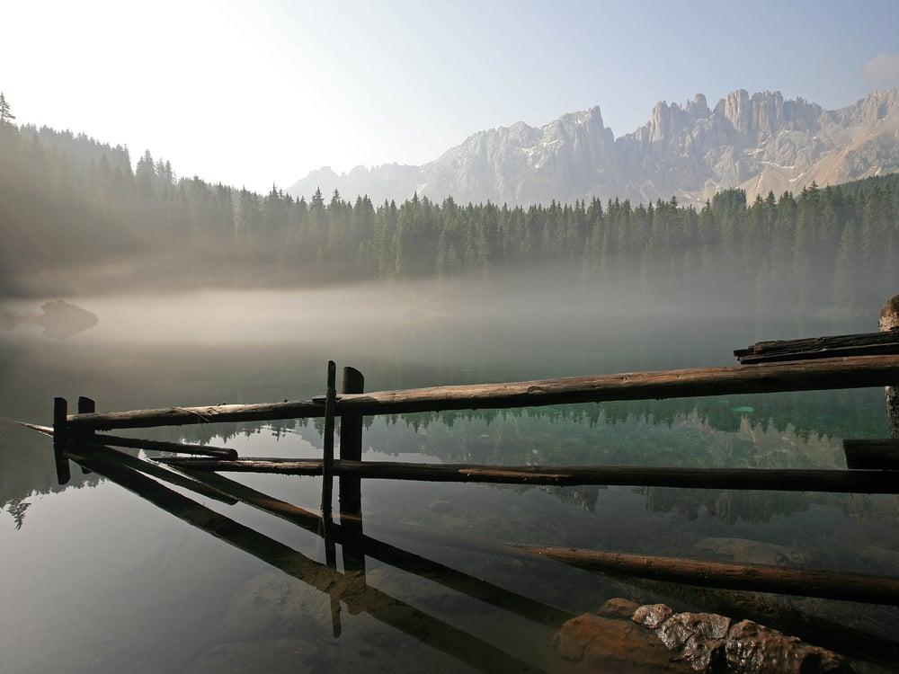 La sirenetta del Lago di Carezza