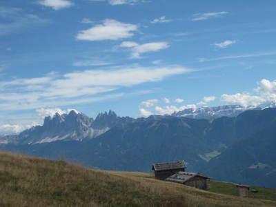 Vom Kühhof auf die Klausner Hütte und Brugger Schupfe