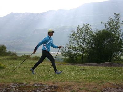 Nordic Walking the new healthy sport