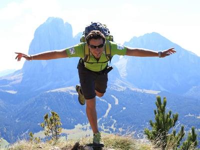 Das Wandern in den Dolomiten