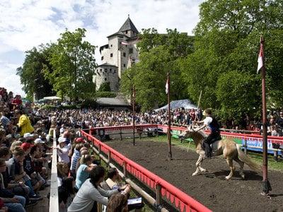 Oswald von Wolkenstein Riding Tournament