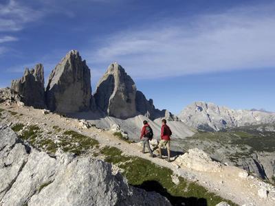 Dobbiaco - hike around the Tree Peaks