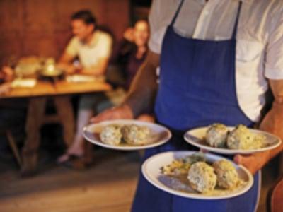 Knödelleckereien aus Südtirol