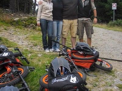 Wander- und Biketour mit dem Rucksackbike