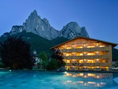 Alpine Basecampe in the Dolomites