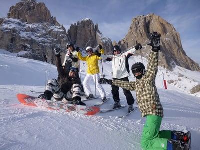 Skifahren mit Skisafari