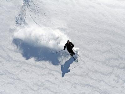 Skifahren in Gröden mit WI-FI