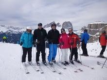 Warme Frühlingstage in Südtirols schönsten Skiarenen