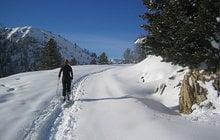 Schneeschuhwanderung über die Stolla Alm zur Plätzwiese