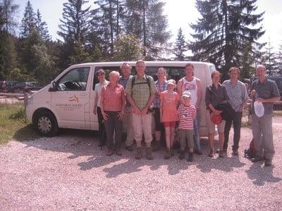 Gästewanderung mit dem Hotel Schwarzschmied zu den Stoanernen Mandln