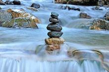 Frische der Berge - herrliches Bergwasser