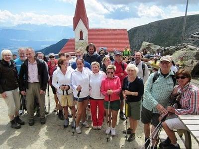 Gipfelgenuss am Latzfonser Kreuz