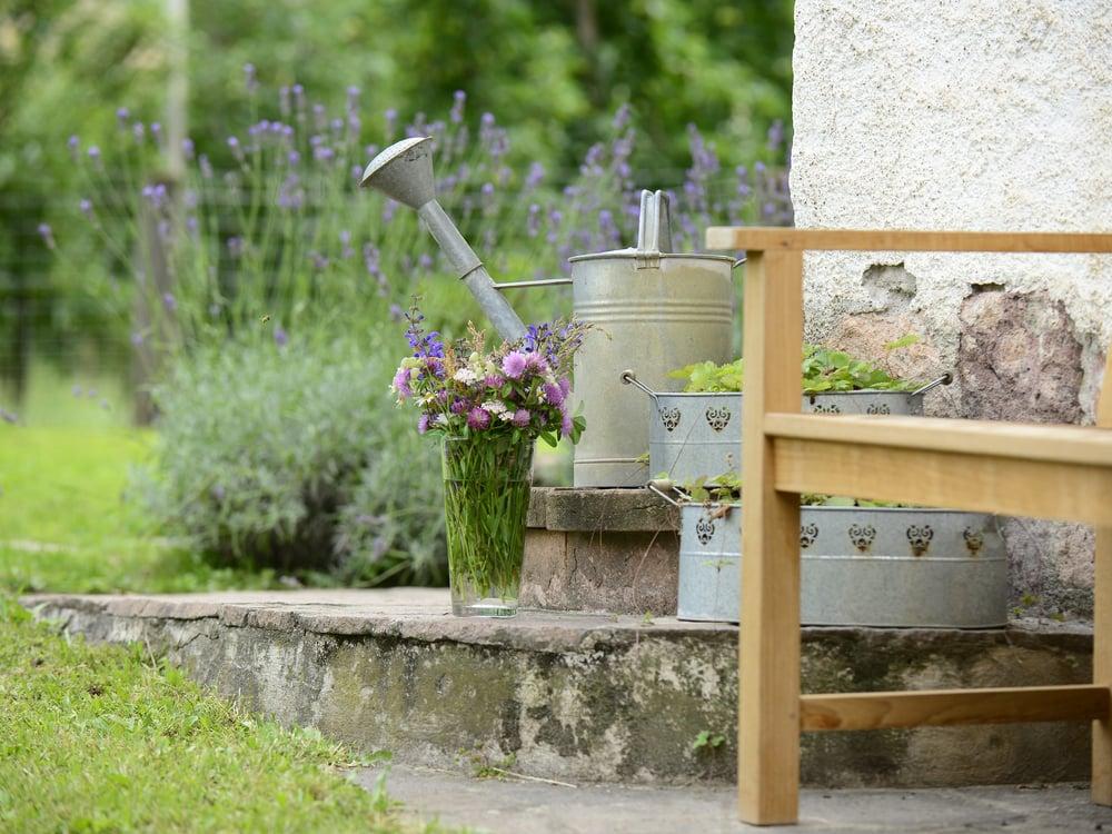 Relaxen im Schwarzbauer Garten