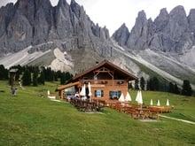 Genusswanderung im Villnösstal im Weltnaturerbe Dolomiten