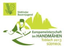 Europameisterschaft im Handmähen in Toblach