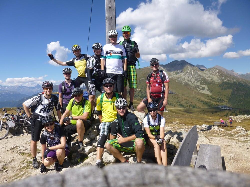 Biken im zentralen Südtirol