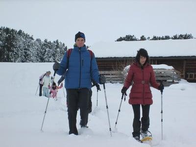 Geführte Schneeschuhwanderungen im Hotel Taubers Unterwirt