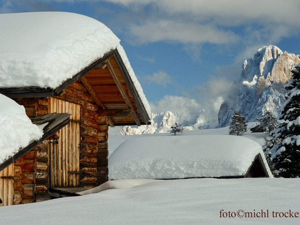 Winter wonderland Alpe di Siusi