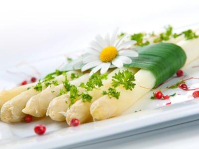 Asparagi bianchi, stufati in pellicola