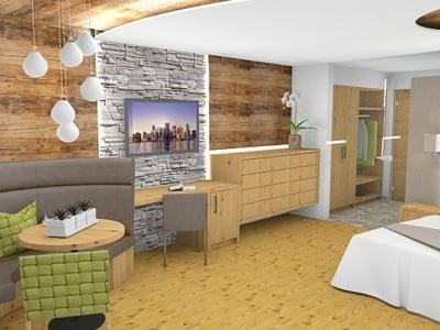 Neue Wohlfühlzimmer im Hotel Gerstl