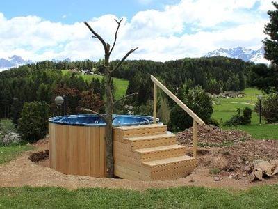 Neuer Whirlpool in unserer Vitalpina Wellness Anlage