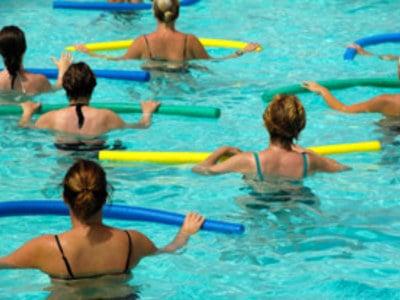 Fit in den Tag! Morgen- Wassergymnastik im Taubers Unterwirt