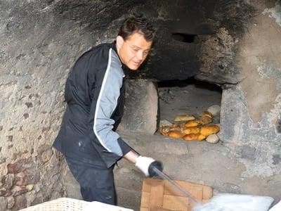 Brotbacken wie vor dreihundert Jahren