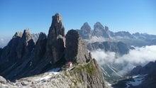 Von Misurina zur Fonda Savio Hütte (2367m)