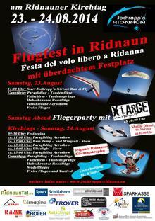 Großes Flugfest in Ridnaun