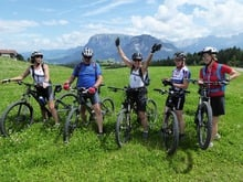 Mountainbiken im Herzen der Dolomiten