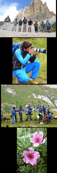 Unsere Dolomiten als Open Air Konzertsaal