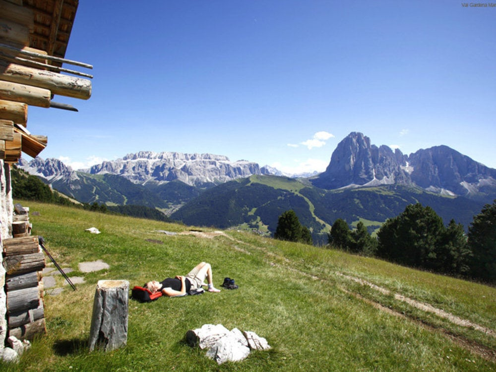 The freshness of summer in Val Gardena