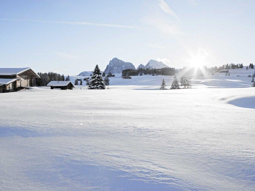 Winterauftakt in den Dolomiten
