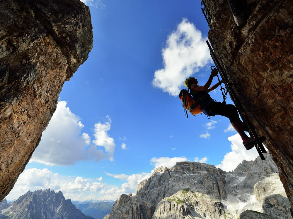 VIA FERRATA WEEK THREE PEAKS DOLOMITES LIGHT