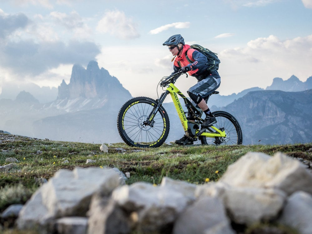 MOUNTAINBIKE - BIKE LIGHT DREI ZINNEN-DOLOMITES