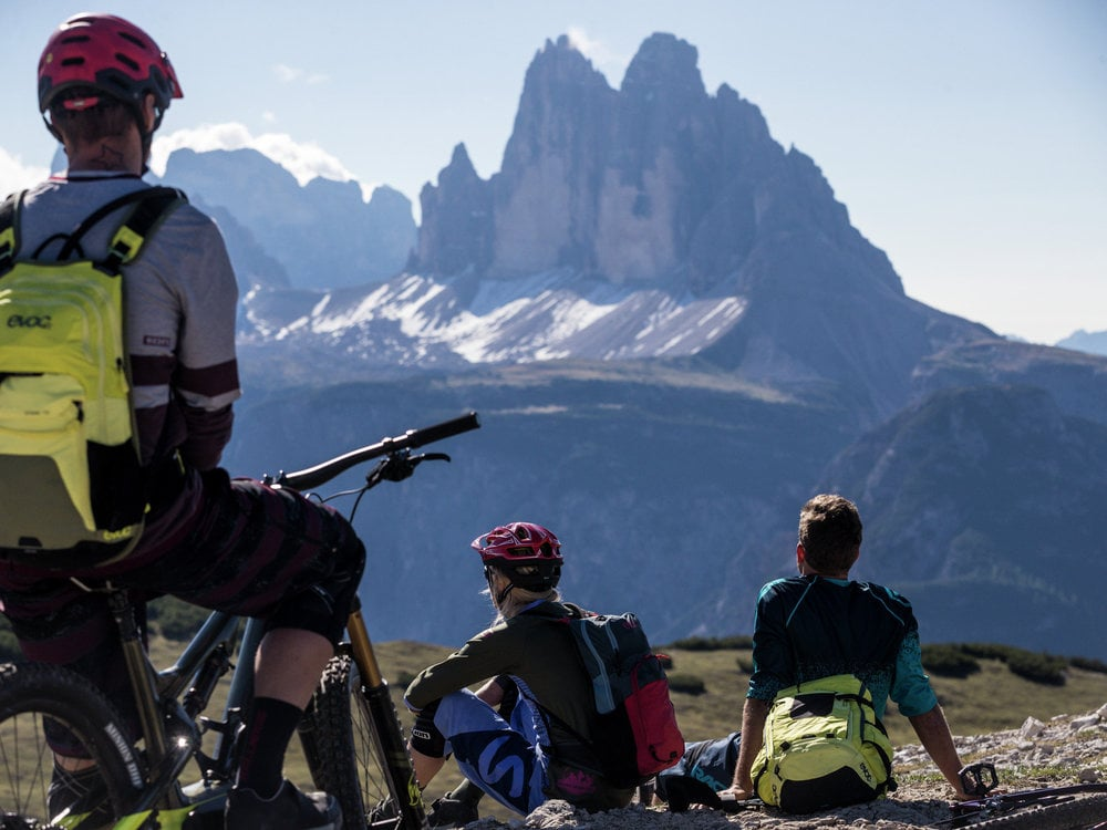 MOUNTAINBIKE - BIKE INTENSIV DREI ZINNEN-DOLOMITES